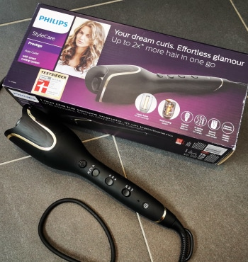 Curler Philips StyleCare Test