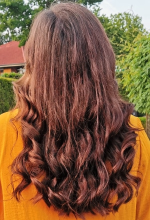 Locken mit Remington Pearl Wand im Test