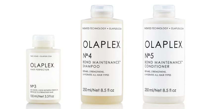 Olaplex No. 3, Olaplex No. 4, Olaplex No. 5