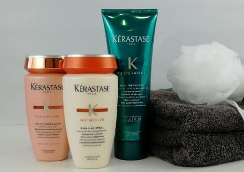 Drei Kerastase Shampoos