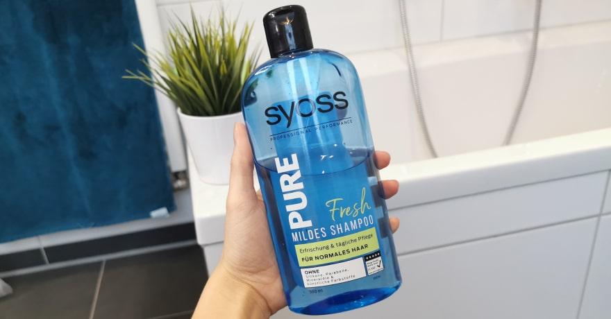Syoss Pure Fresh Shampoo silikonfrei